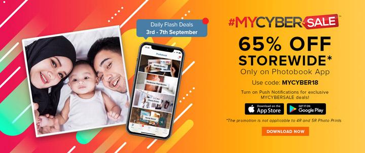 Photobook App MyCybersale Promotion