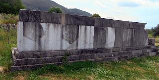 το ταφικό μνημείο στην Αρχαία Μεσσήνη