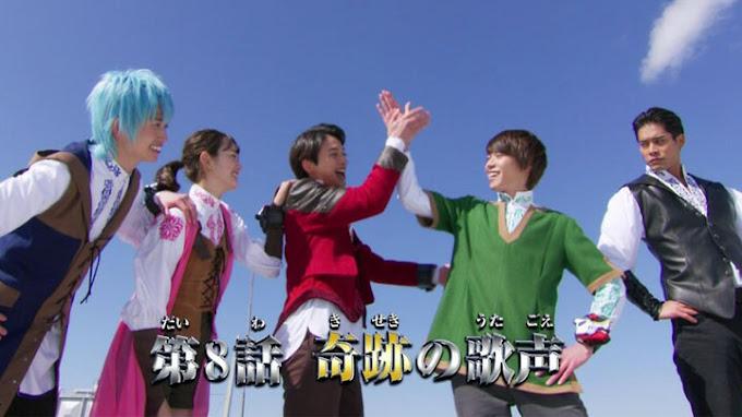 Spoiler Kishiryu Sentai Ryusoulger Episode 8, Keajaiban Suara