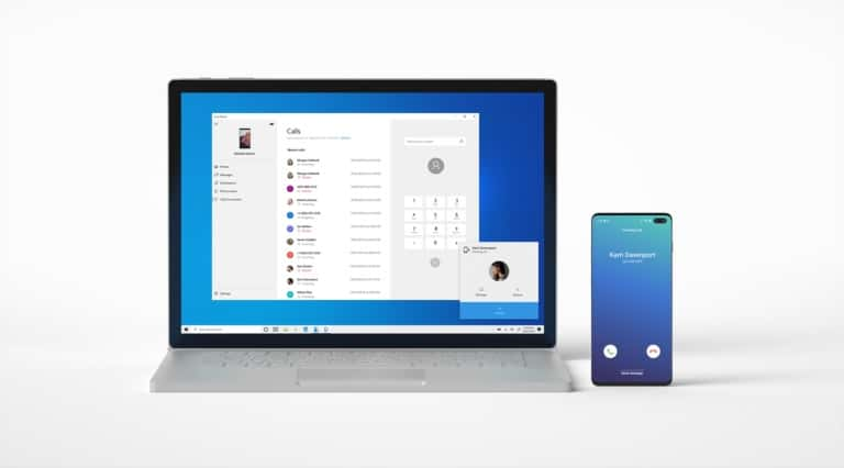 Microsoft's 'Your Phone' app for Windows 10 gets calling support, and is available as beta release