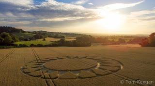 Images Tom Keegan Copyright 2016 alien crop circle UK