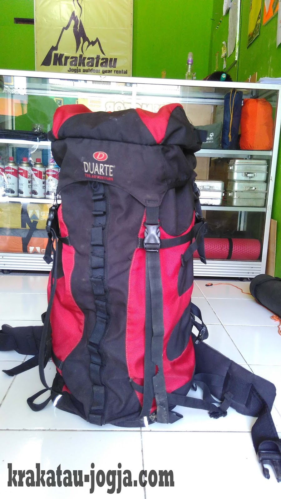 Tas Carrier 80 Liter + Cover Image