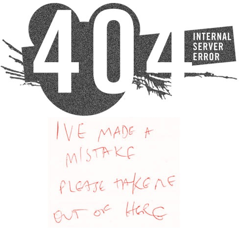 404 internal server error