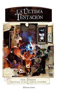 La Última Tentación, de Neil Gaiman y Michael Zulli - Planeta Comic