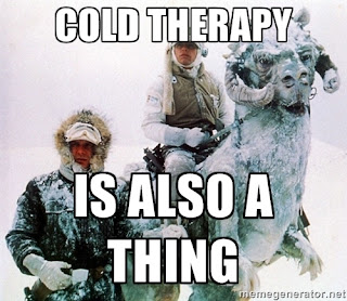 Star Wars Luke and Han Solo on Hoth: Cold Therapy is also a thing