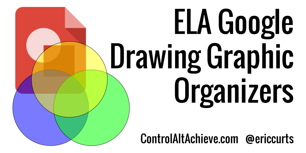 Language Arts Graphic Organizers with Google Drawings