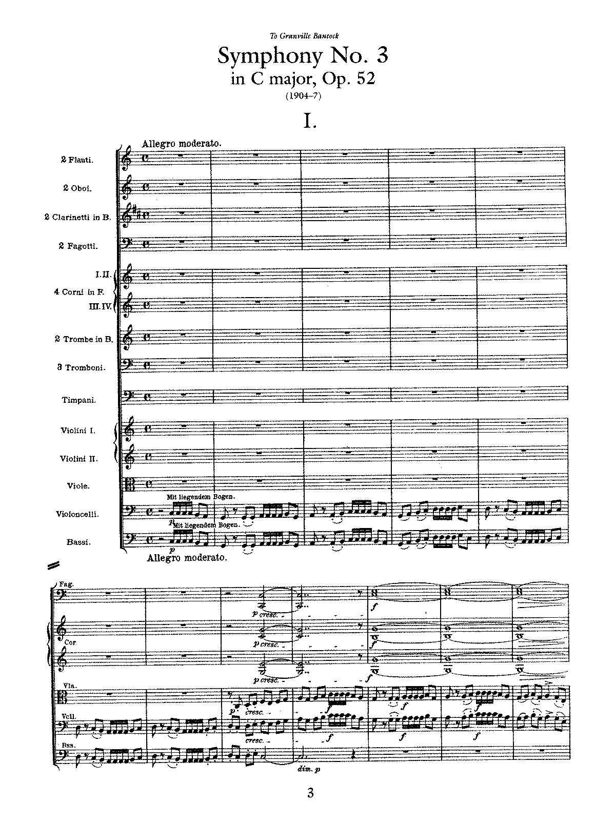 MUSIClassical notes: Sibelius symphony no 3 in C Op 52