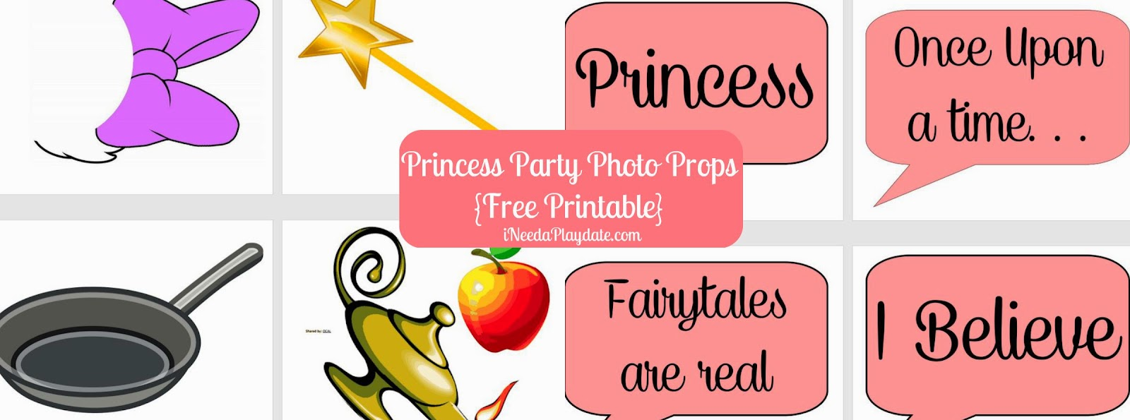 Disney Prop Printables