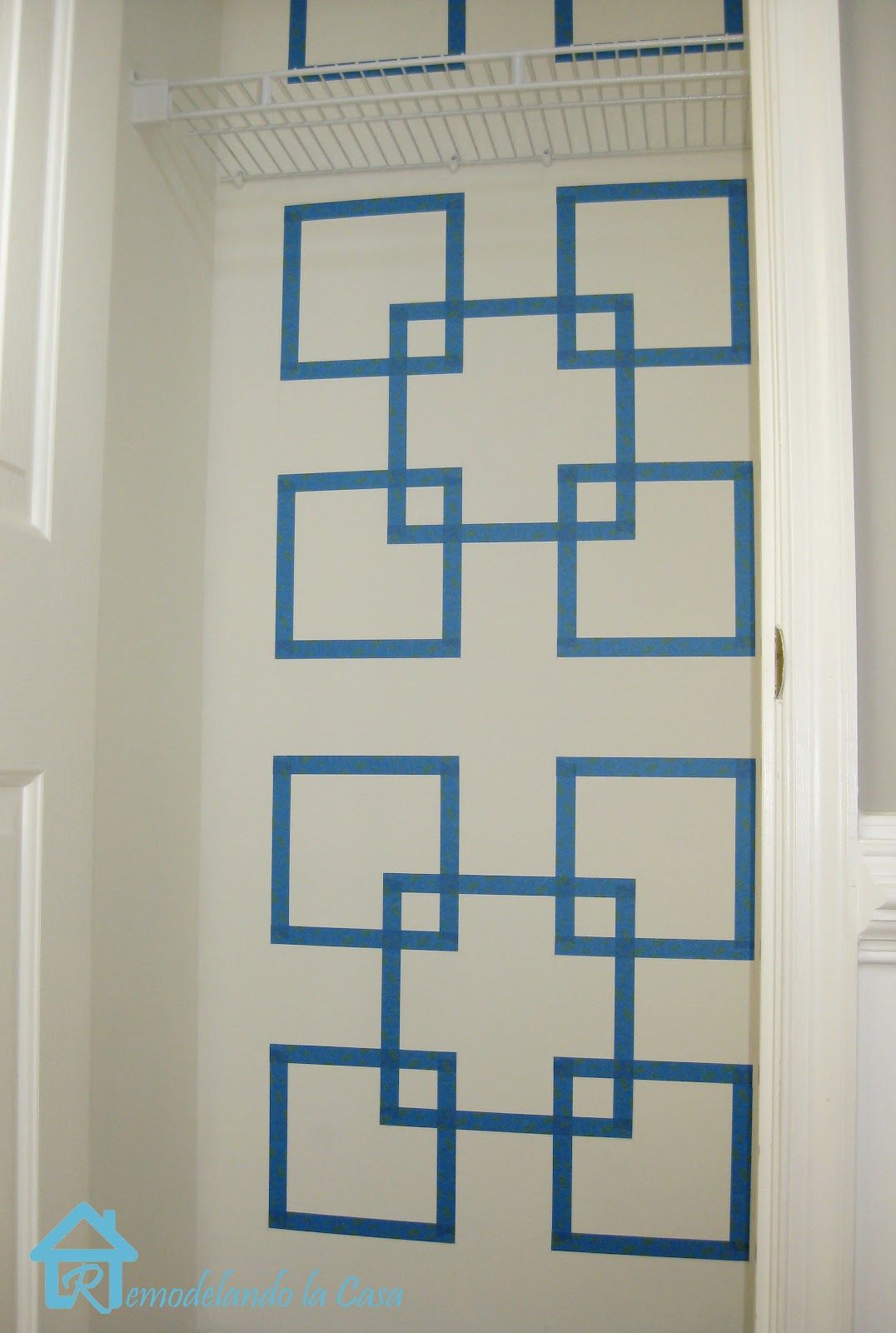 Pics For > Easy Wall Designs With Tape