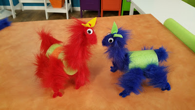 Bend Fuzzy Stems into llamas from Hands On Crafts For Kids