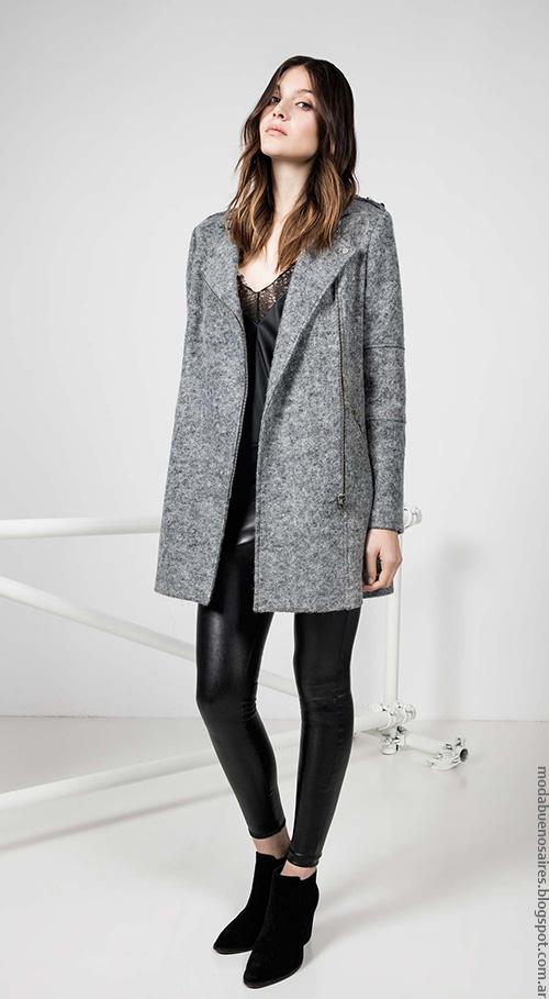 Square invierno 2016 ropa de mujer. Moda invierno 2016.