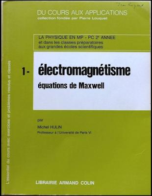 Télécharger Livre Gratuit Du Cours Aux Applications - Tome 1, Electromagnétisme, Équations de Maxwell pdf