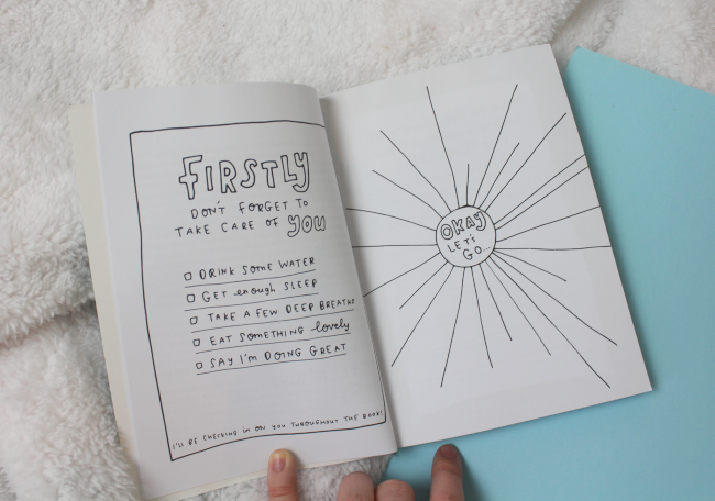 The Make Someone Happy book (and why we should all give creative journalling a go)