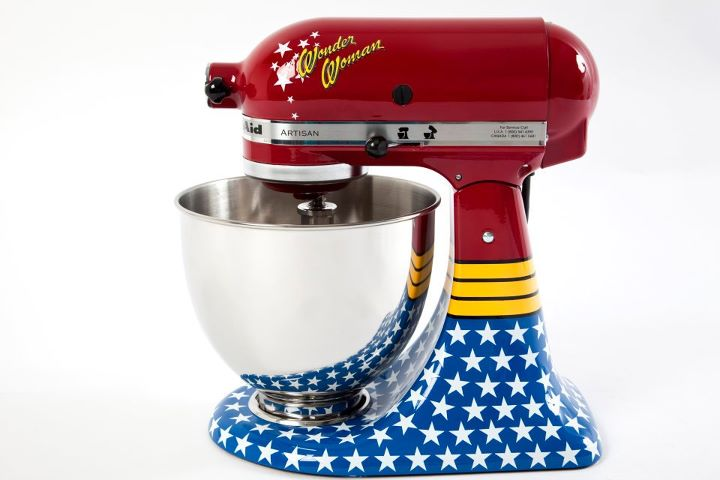 Enjoyable Happy Go Marni I Want A Wonder Woman Kitchenaid Stand Mixer Interior Design Ideas Gresisoteloinfo