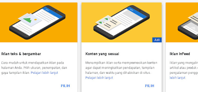 Cara Membuat Unit Iklan Matched Content di Google AdSense