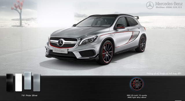 Mercedes AMG GLA 45 4MATIC Edition 1 2016