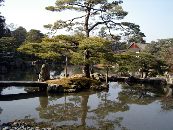 www.fertilmente.com.br - Jardim Imperial Katsura, Jardins muito grandes e rústicos marcam o período Edo