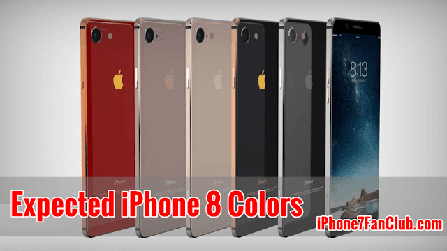 What Are Expected Vibrant Colors for Apple iPhone 8?