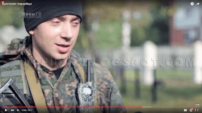 Брестский гвардеец ССО, Петр Есьман с рацией LPD