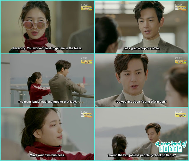 noh eul and ji taek lost their jobs - Uncontrollably Fond - Episode 13 Review