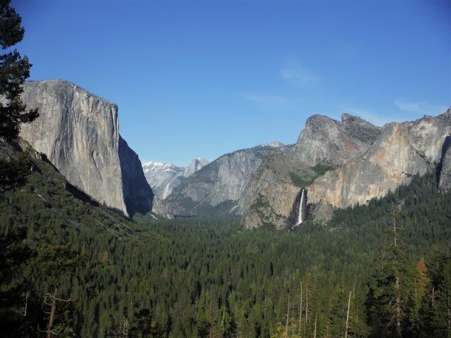 Yosemite - Gran Capitán y Bridal Veil