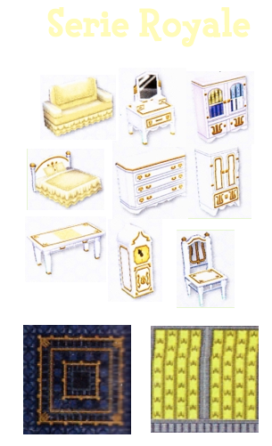 animal crossing 3ds s ries de meubles 1. Black Bedroom Furniture Sets. Home Design Ideas