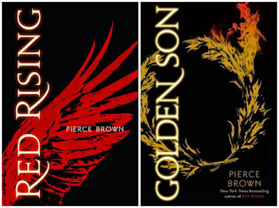 Red Rising and Golden Son by Pierce Brown