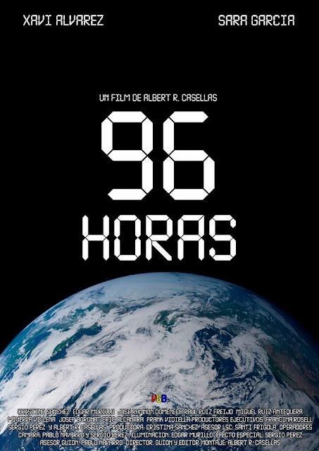 Cortometraje 96 horas dirigido por Albert R. Casellas