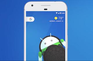 Smartphone yang mendapat update android Oreo