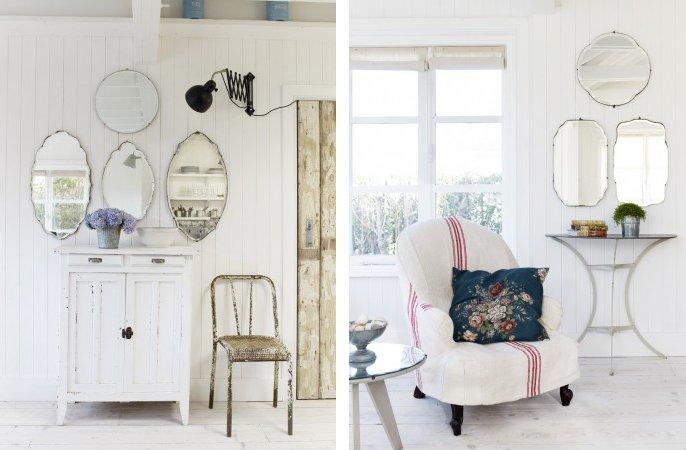 Total white home shabby home arredamento interior craft for Home arredamento
