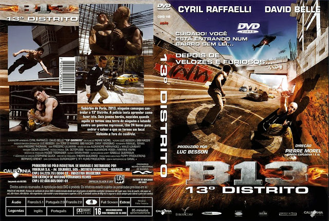 Capa DVD B13 13º DISTRITO