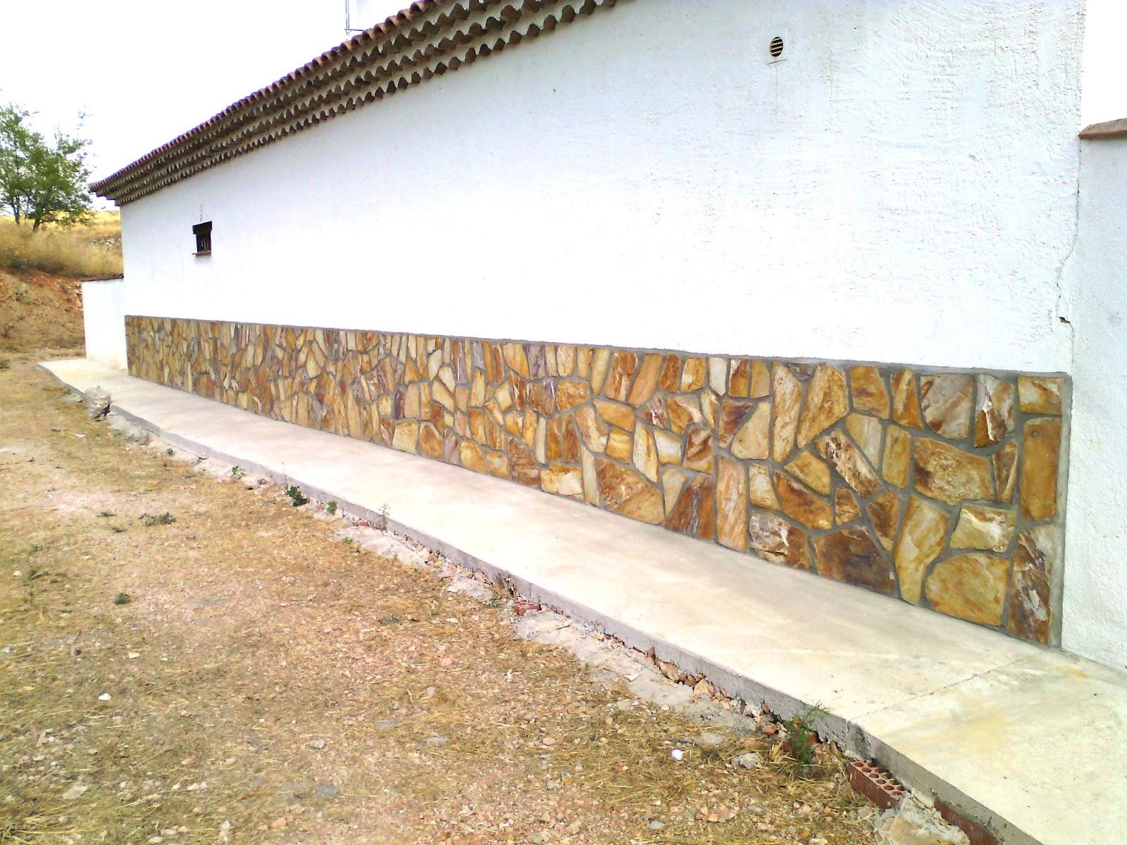 Presupuestos reformas pavimientos mantenimientos - Zocalos de piedra ...