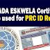 Brigada Eskwela Certificate can be used for PRC ID Renewal