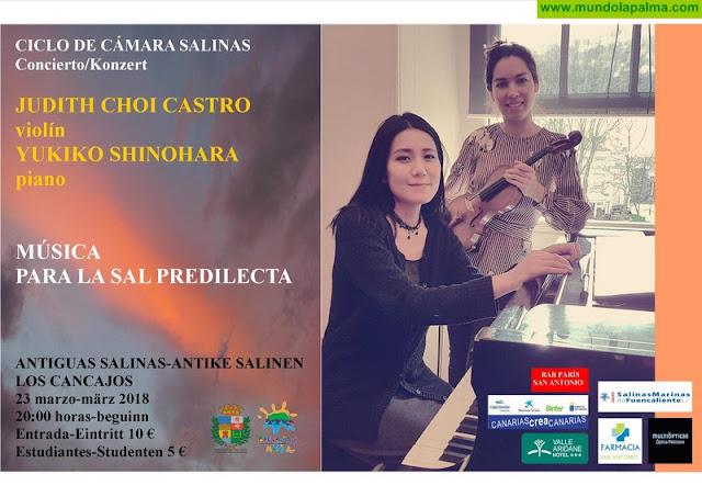 LAS SALINAS: Concierto de violín y piano