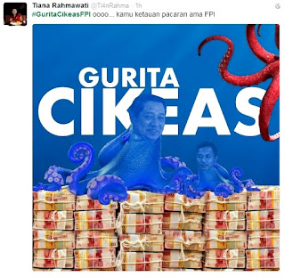 Gurita Cikeas FPI