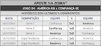 LOTECA 718 - HISTÓRICO JOGO 04