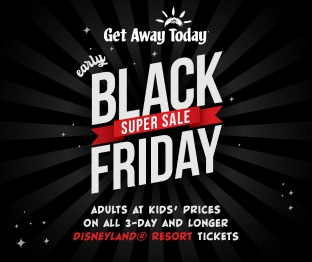 DIsneyland Black Friday Deal