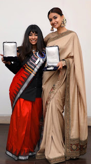 Keerthy Suresh and Indrakshi Pattanaik Malik Receiving 66th National Awards 2019