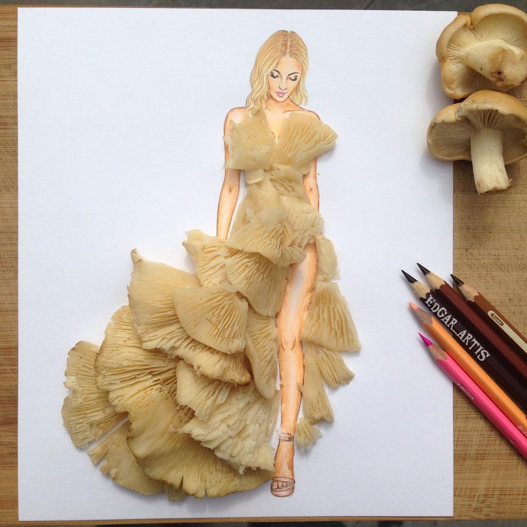 11-Mushrooms-Edgar-Artis-Drawings-that-use-Flowers-Food-and-Objects-www-designstack-co