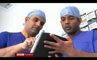 Una aplicación para tabletas que permite practicar antes de una cirugía