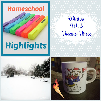 Homeschool Highlights - Wintery Week Twenty-Three on Homeschool Coffee Break @ kympossibleblog.blogspot.com
