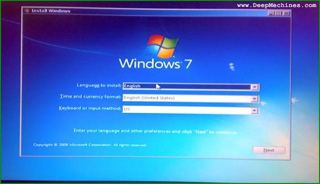 Panduan Awal Instalasi pada Windows 7
