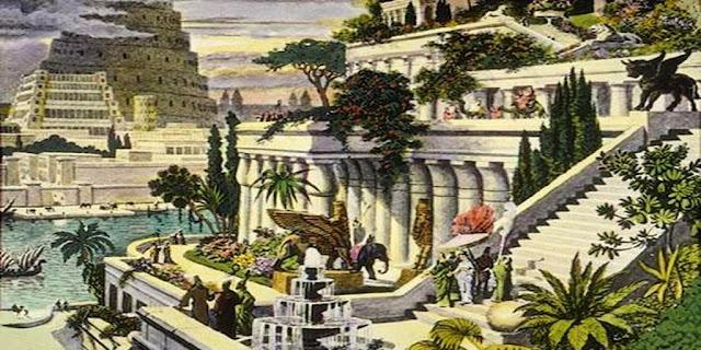 Taman Gantung di Babylonia Sebagai Salah Satu Keajaiban Dunia Kuno