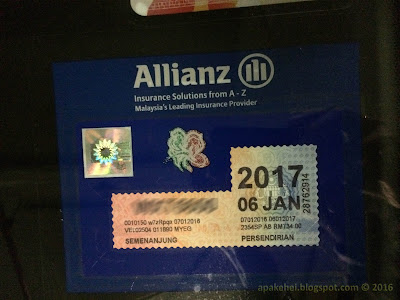 Road Tax Holder Allianz