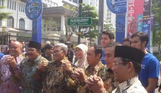 Gubernur Jabar Resmikan Tiga Nama Jalan Baru di Kota Bandung