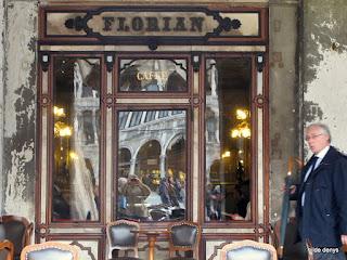 Caffe Florian, Venice: entrance