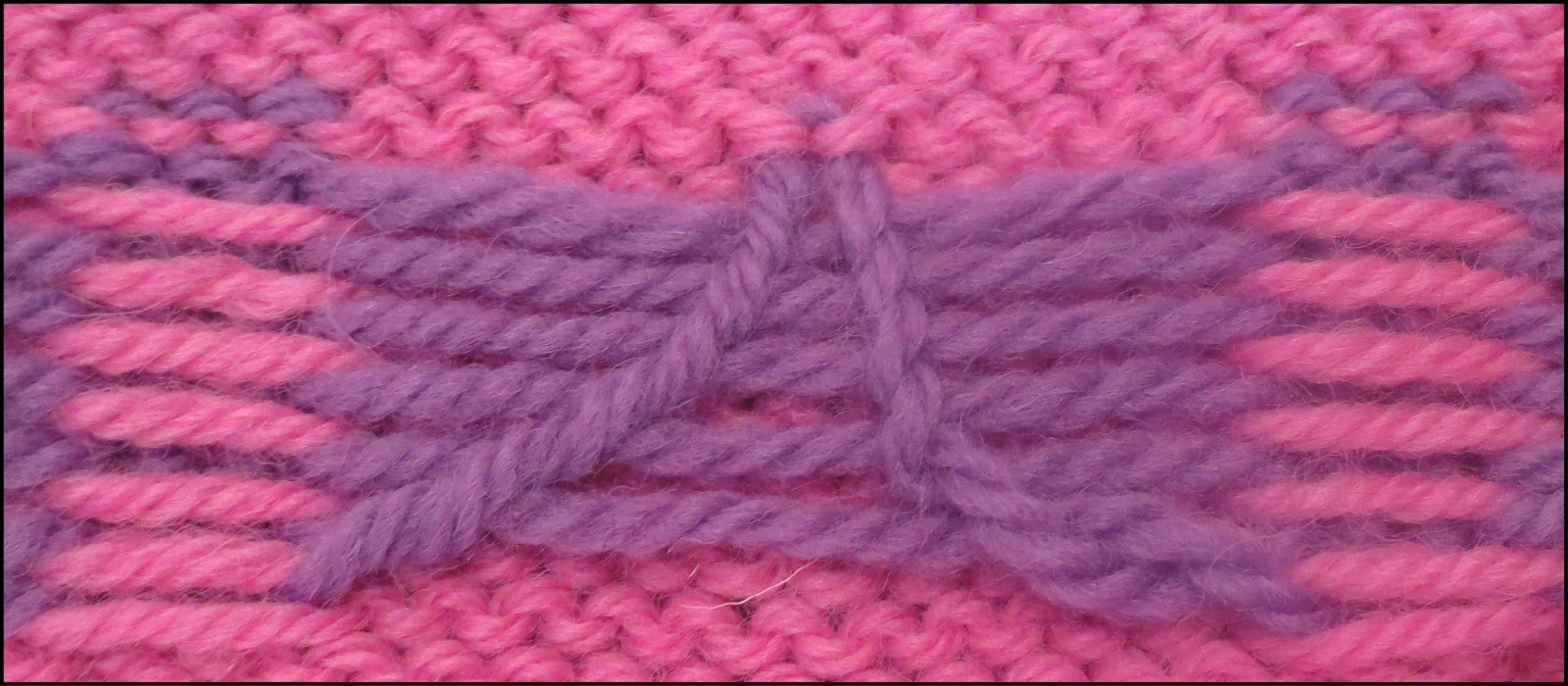 Knitting Jacquard Stitch : TECHknitting: Taming long floats via the STUART method for color-knitting