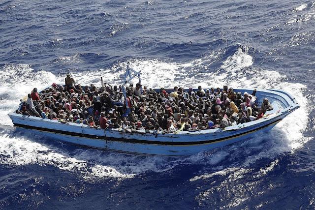 24 drown as burnt Nigerian migrants are rescued in Mediterranean