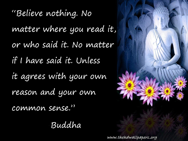 Lord Gautam Budha Peace Quotes Wallpaper  Photo Image