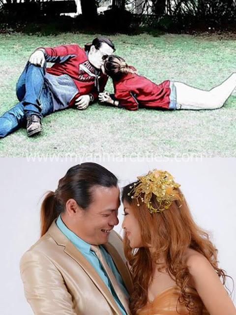 A Broken Marriage Story Of Singer Htoo El Lynn And Mhe Mhe Khal